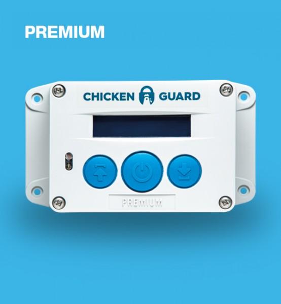 ChickenGuard Premium, automatische Hühnerklappe